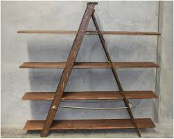 Ladder Shelf Furnishings Corner Ladder Shelf Rustic Wood Small Wooden Ladder