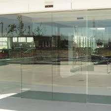 frameless glass stacking doors dorma st g sliding door system frameless