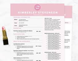 Creative Resume Templates For Microsoft Word Crisp Purple Resume Cover Letter U0026 References Template