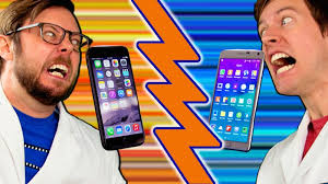battle vs iphone 6 plus vs galaxy note 4 wired
