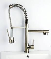 satin nickel kitchen faucet remarkable brushed nickel kitchen faucet home and interior home