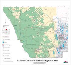 Wildfire Map Wildfire Maps Larimer County