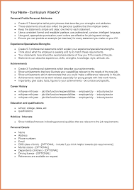 resume exles resume personal attributes exles resume how to word continuous