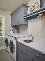 bm grey pinstripe laundry room cabinet paint color bm grey