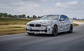 2018 bmw m5 prototype drive review car and driver