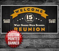 high school reunion banners reunion banner ebay