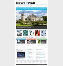 news portal website templates