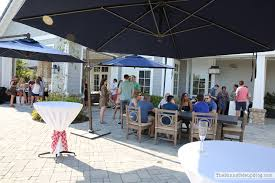 Pottery Barn Patio Umbrella by A Summer Party The Sunny Side Up Blog