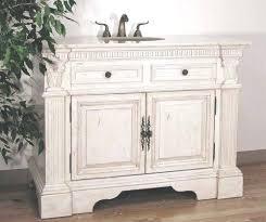 vanities distressed white bathroom vanity cabinet distressed