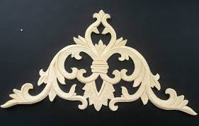 decorative wood carvings door decoration wood carving corner flower applique furniture