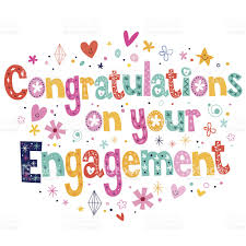 congratulations on your engagement card congratulations on your engagement card stock vector more