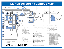 Appleton Wisconsin Map by Locations Marian University