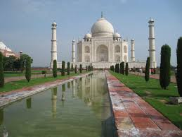 taj mahal garden layout 24 hours on a bus and agra city of the taj mahal bryan in india