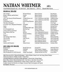 theater resume template musical theatre resume exles pointrobertsvacationrentals