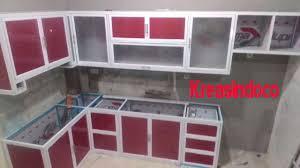 Kitchen Set Aluminium Kitchen Set Aluminium Kombinasi Acp Pemasangan Di Cilincing