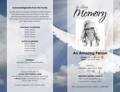 printable funeral program template memorial program obituary