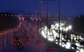 report a street light out the lights go out on 121 miles of motorway highways agency says