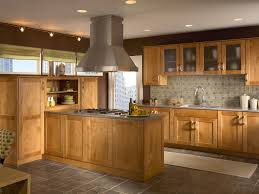 Masco Kitchen Cabinets Remodeling Idea Kraftmaid Fawn Oak Cabinets With Granite