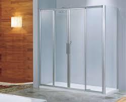 Frosted Glass Shower Door Frameless Bathroom Cool Frame Frosted Sliding Glass Shower Doors With