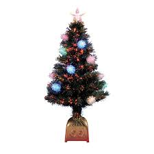4 foot white christmas tree with colored lights shop northlight 4 ft 170 count pre lit whimsical artificial