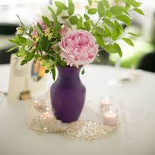 purple wedding centerpieces diy purple wedding centerpieces