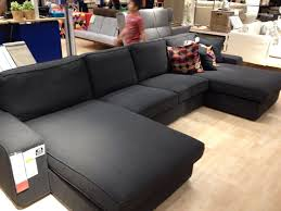Couch And Chaise Lounge Ikea Kivik Sectional Diy Three Chaise Lounges Use Attachable