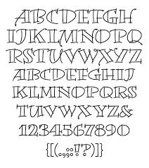 Letters Designs For - creative lettering alphabets creative lettering