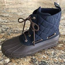 womens sperry duck boots size 11 sperry top sider s lace up size 11 ebay