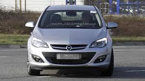 opel astra 2012 2013 opel astra facelift spied undisguised