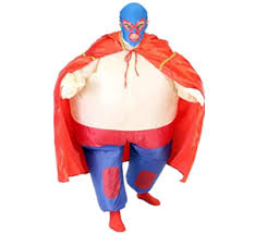 Sumo Halloween Costume Chubsuit Inflatable Suit