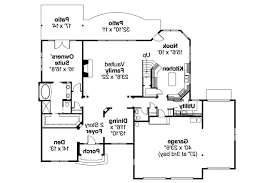 Water View House Plans by European House Plan Yorkshire 30 505 1st Floor Plan European