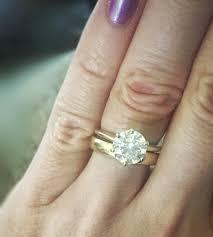 plain engagement ring with diamond wedding band pear shaped engagement rings with wedding bands new 41