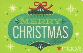 gift card merry christmas macys united states of america
