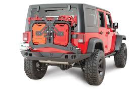 cj jeep wrangler jcr offroad swbarppc adventure rear bumper tire carrier roto pax