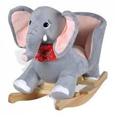 siege a bascule bebe siège fauteuil chaise à bascule enfant jouet tissu gris 0102021