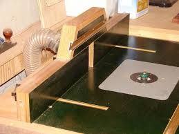 Building A Router Table by Router Table Fence Not From A Plan