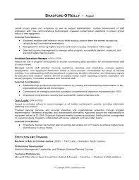 Military Police Resume Examples by Military To Civilian Resume Examples