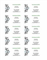 word name card template packing slips for shipping best proposal