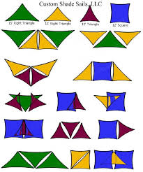 Awning Sails Custom Shade Sails Sample Layouts And Design Ideas