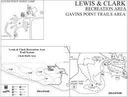 Lewis And Clark Map Lewis And Clark Recreation Area Maplets