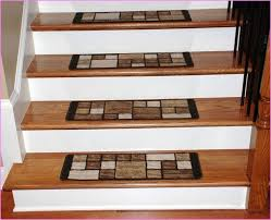Modern Stair Tread Rugs Carpet Stair Treads Lowes Home Design Within Runners Inspirations