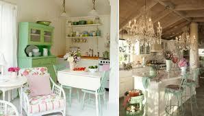 adorable shabby chic kitchen design collection for home decor