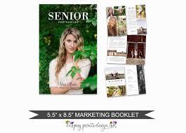 senior magazine template for photographers 8 page studio