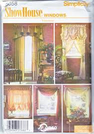 mccall u0027s sewing pattern 3086 781 window treatments swags curtains