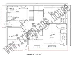 30 square meters in feet 30 45 feet 125 square meter house plan plans pinterest