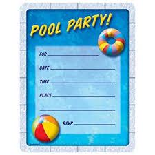 pool party invitations pool party invitations party accessory toys