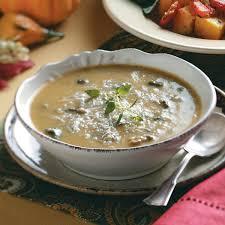 cremini u0026 butternut squash soup recipe taste of home