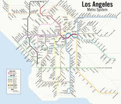 Metro Rail Map Los Angeles by Los Angeles Public Transport Page 46 Skyscrapercity