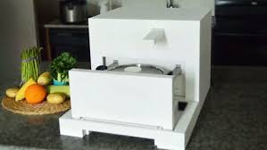 999 chef e fridge oven chills and cooks your meals daily mail