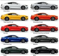 2016 ford mustang colors ford mustang pinterest ford